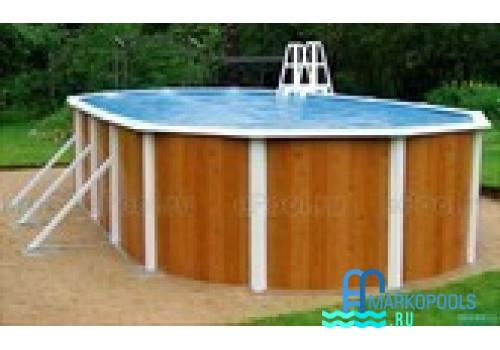 Бассейн Atlantic pool овальный Esprit-Big размер 10,0х5,5х1,32 м