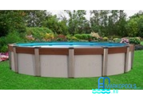 Бассейн Atlantic pool круглый Contempra размер 5,5х1,35 м