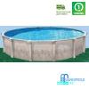 Бассейн Atlantic pool круглый J-4000 Гибралтар размер 4.6х1.32 м