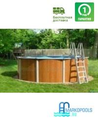 Бассейн Atlantic pool круглый Esprit-Big размер 4,6х1,32 м