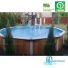 Бассейн Atlantic pool круглый Esprit-Big размер 5,5х1,32 м