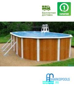 Бассейн Atlantic pool овальный Esprit-Big размер 5,5х3,7х1,32 м