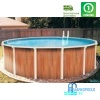 Бассейн Atlantic pool круглый Esprit размер 2,4х1,25 м
